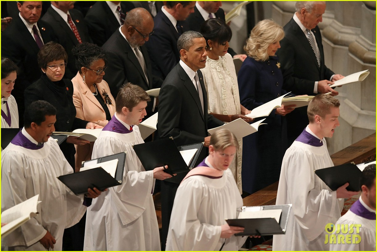 barack michelle obama national prayer service after inauguration 142796770