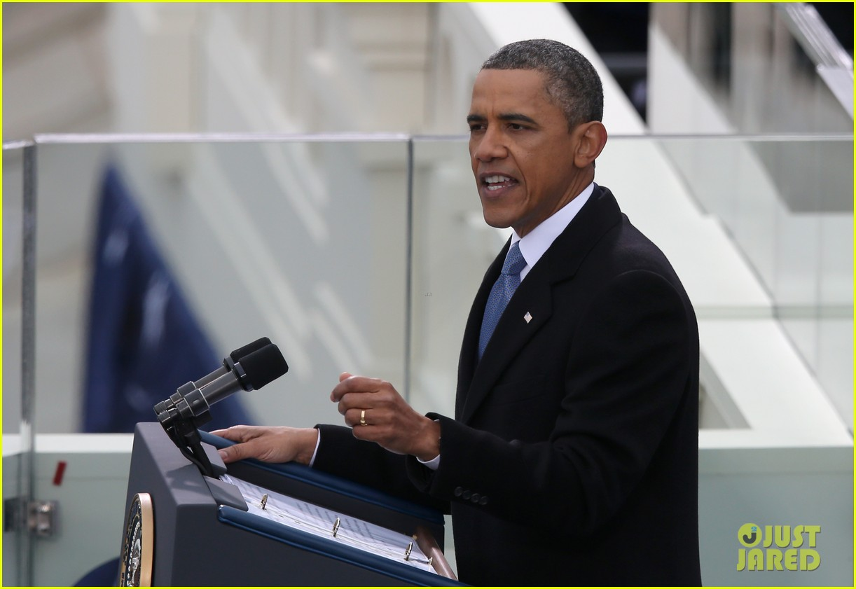 watch president obama being sworn in at second inauguration 022796119