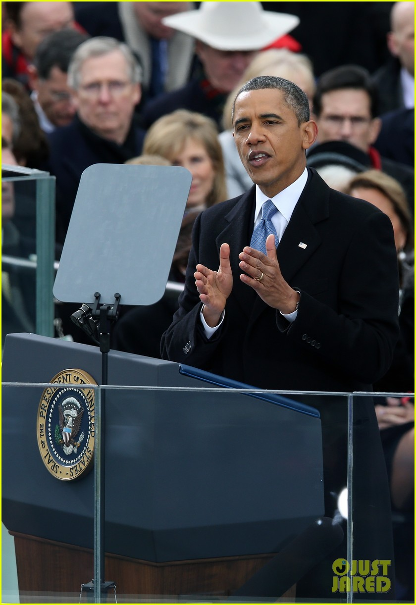 watch president obama being sworn in at second inauguration 032796120