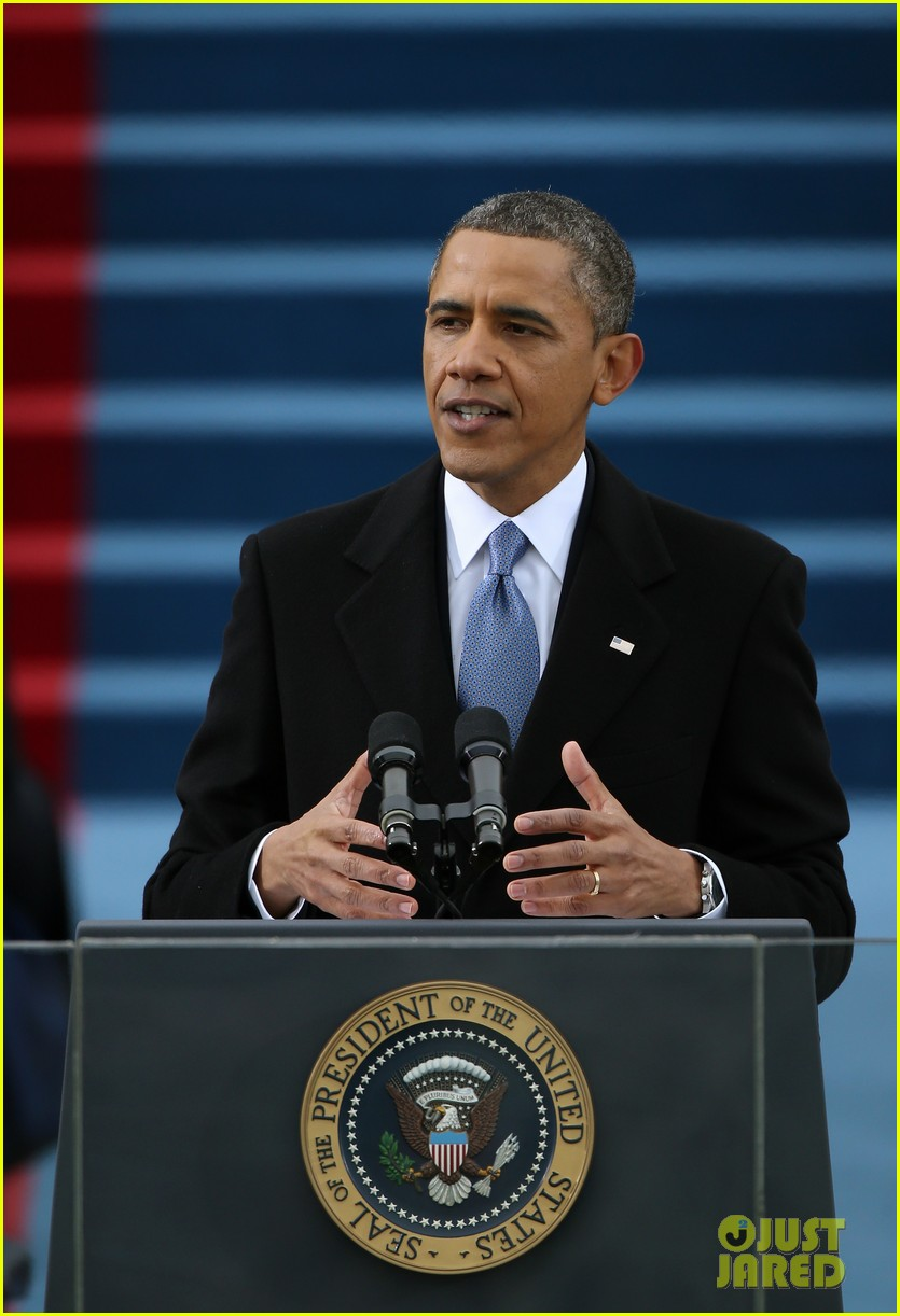 watch president obama being sworn in at second inauguration 042796121