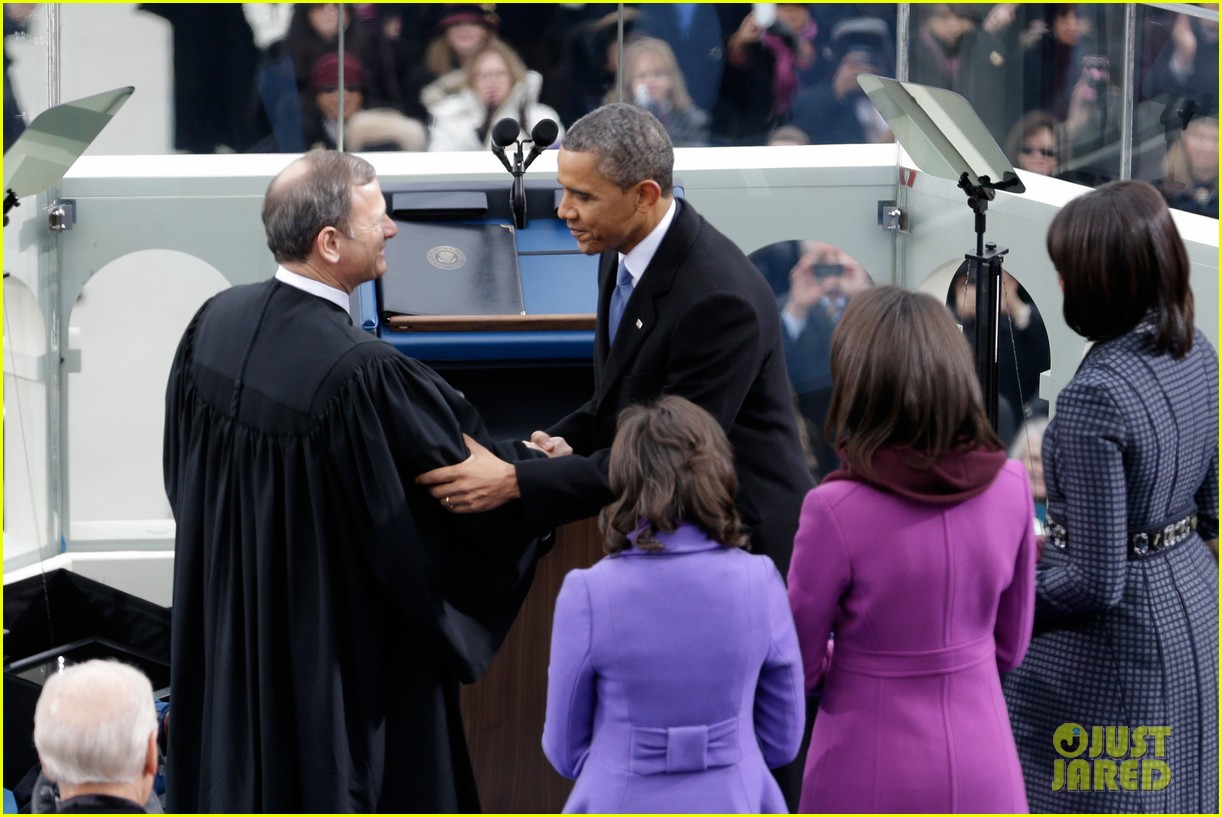 watch president obama being sworn in at second inauguration 08