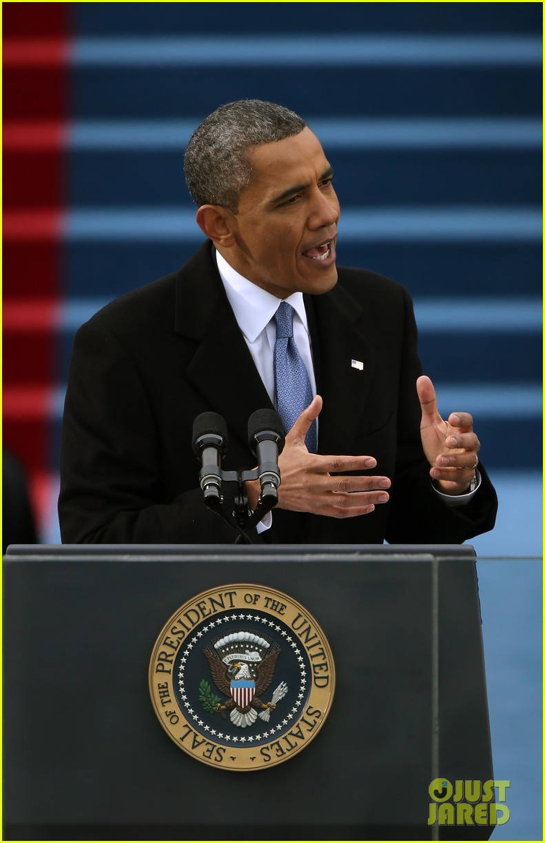 watch president obama being sworn in at second inauguration 092796126