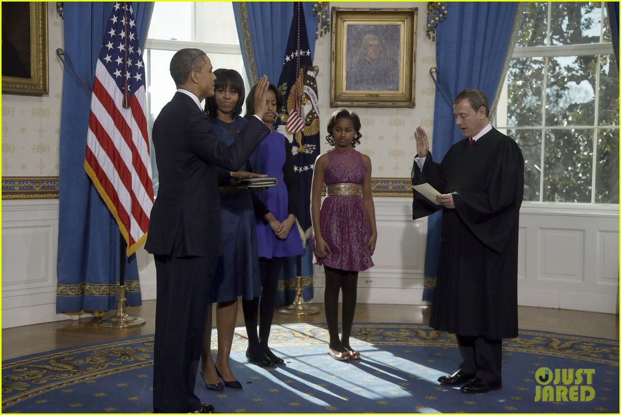 president barack obama sworn into office launches second term 012795392