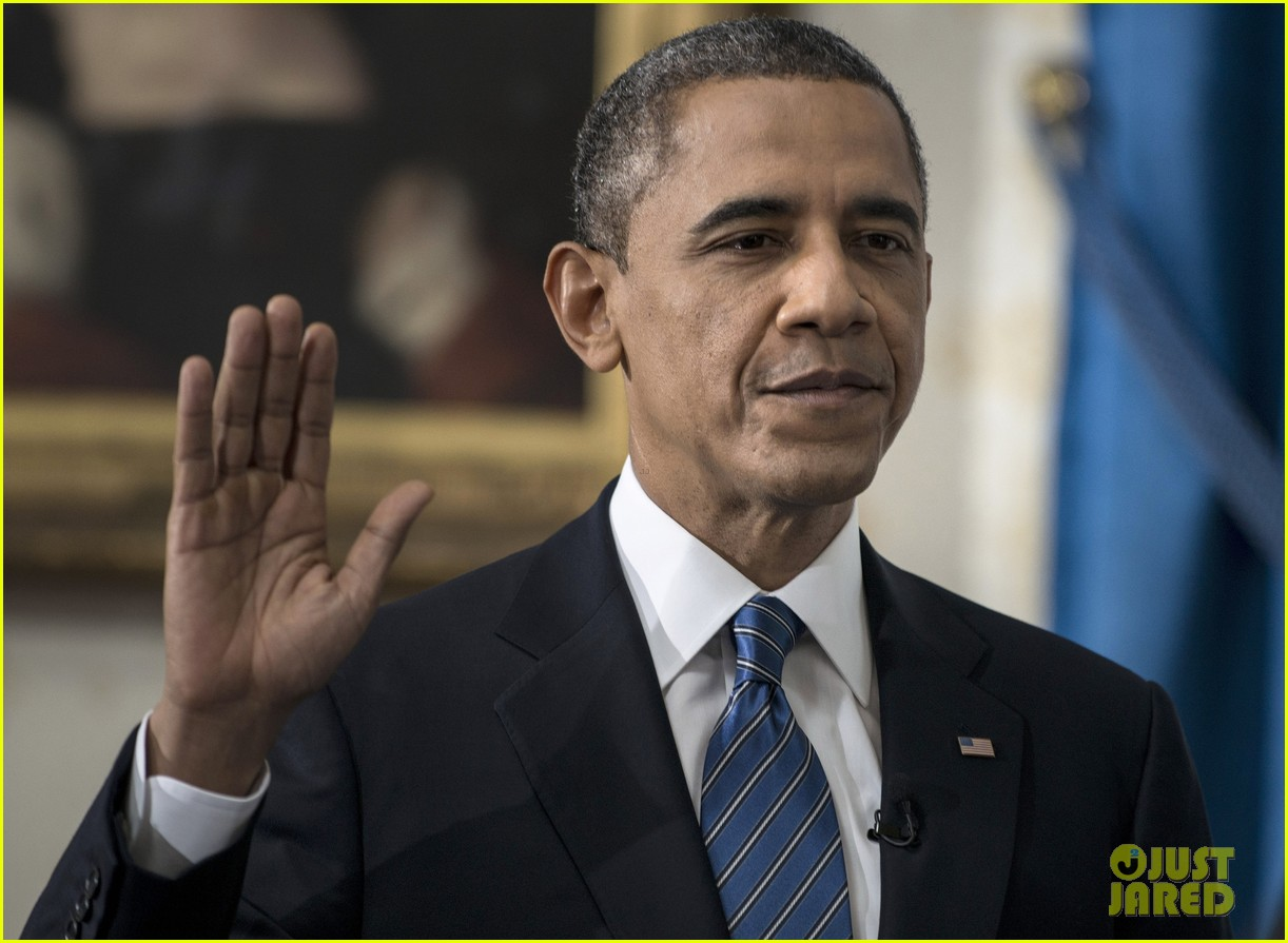 president barack obama sworn into office launches second term 022795393