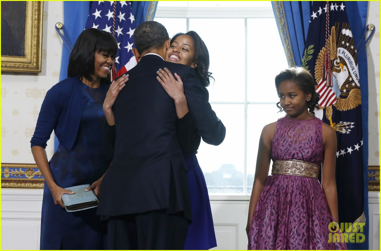 president barack obama sworn into office launches second term 152795406