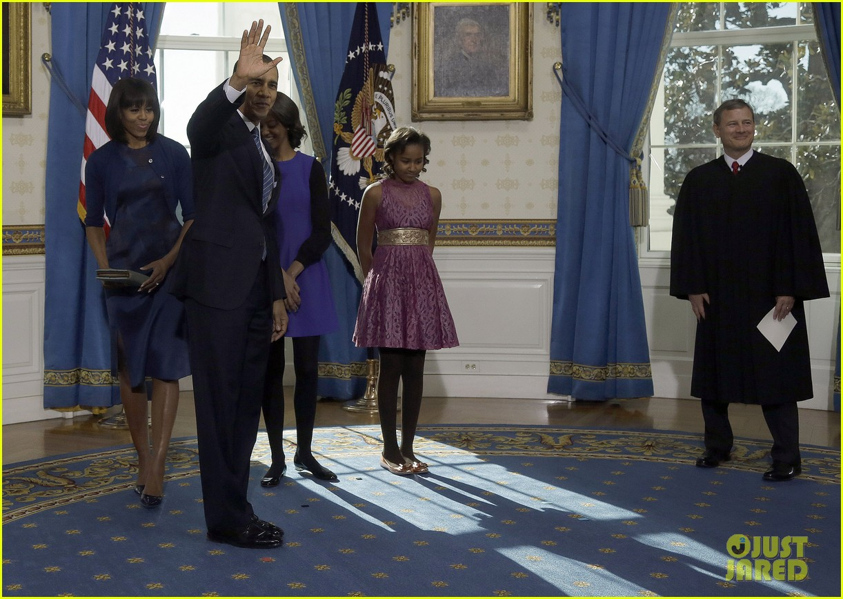 president barack obama sworn into office launches second term 202795411