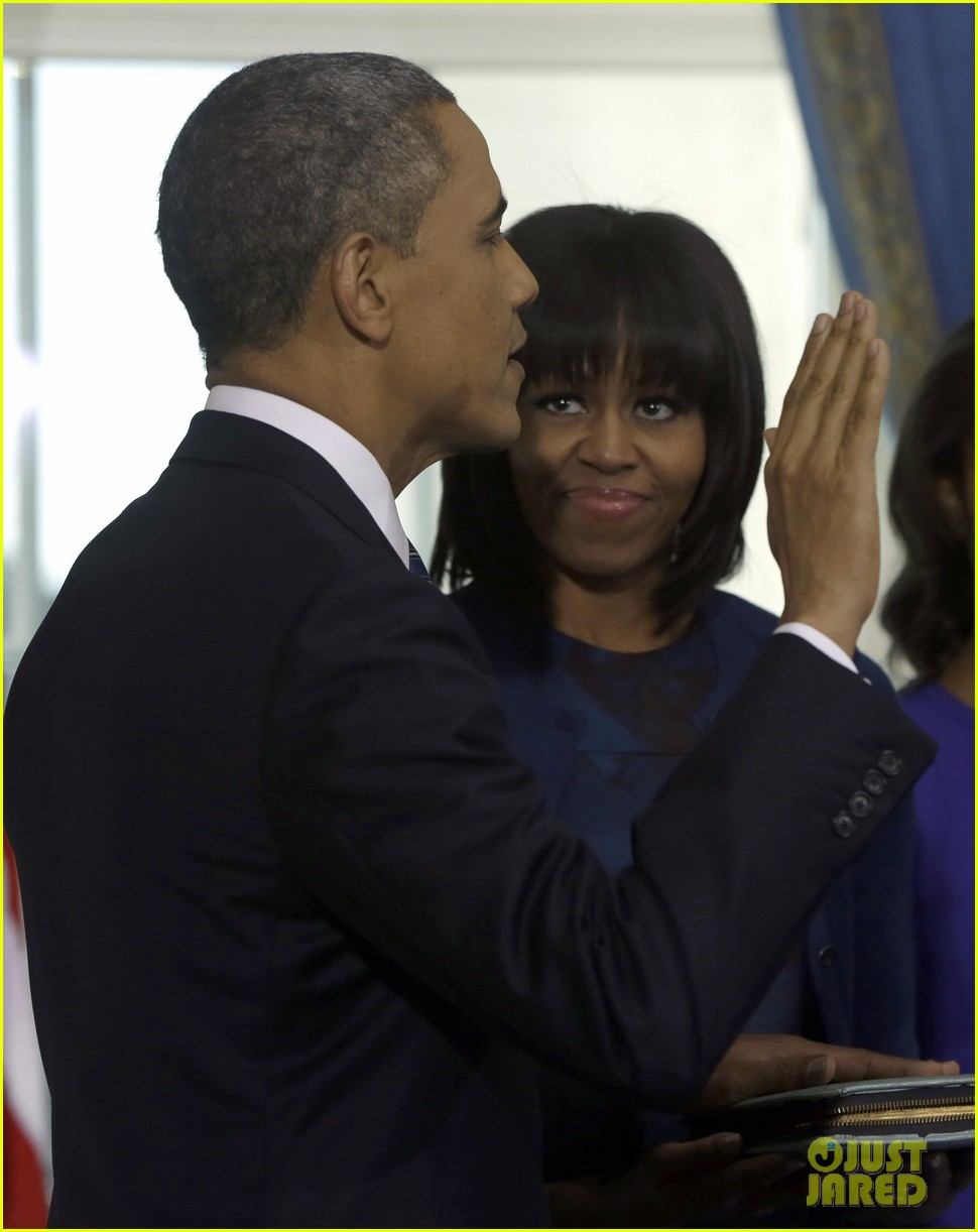 president barack obama sworn into office launches second term 212795412