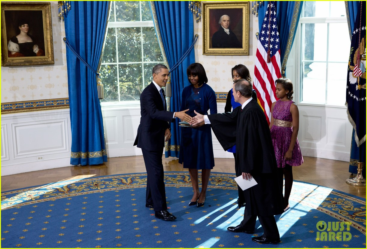 president barack obama sworn into office launches second term 222795413