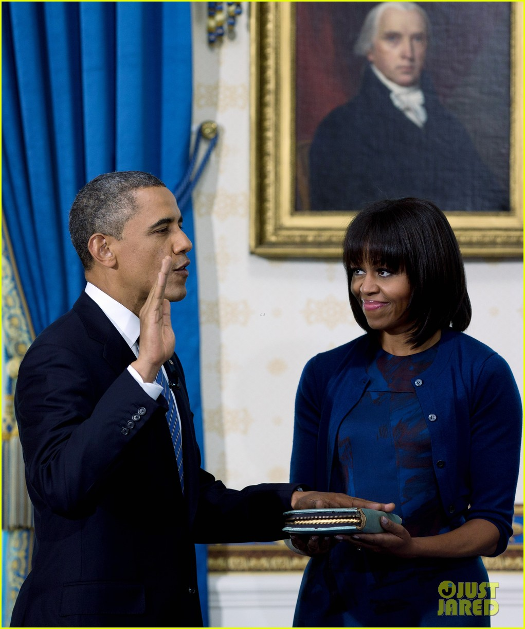 president barack obama sworn into office launches second term 242795415