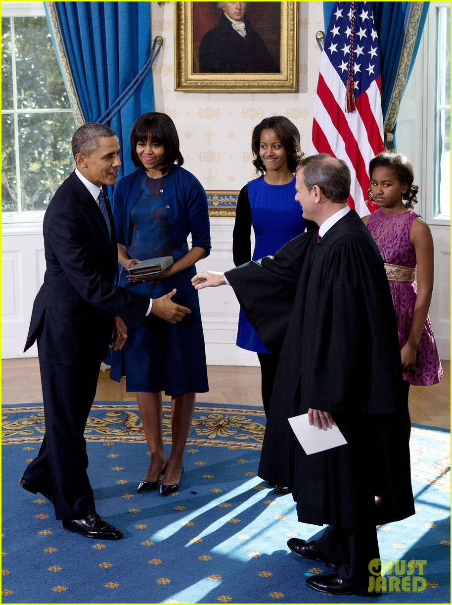 president barack obama sworn into office launches second term 26