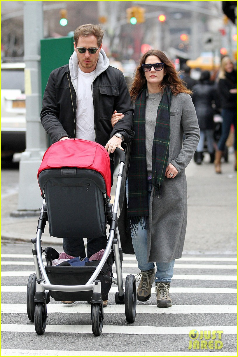 drew barrymore will kopelman saturday shopping with olive 012790458