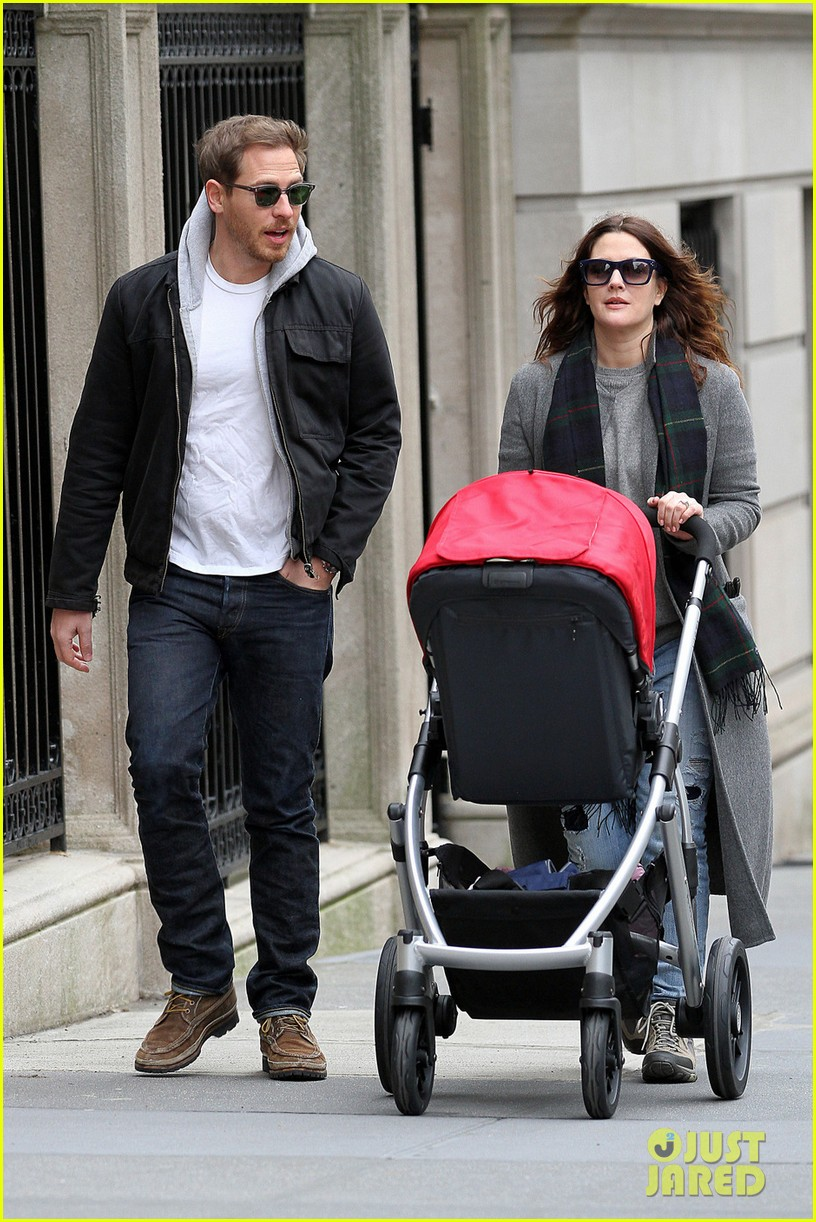 drew barrymore will kopelman saturday shopping with olive 06