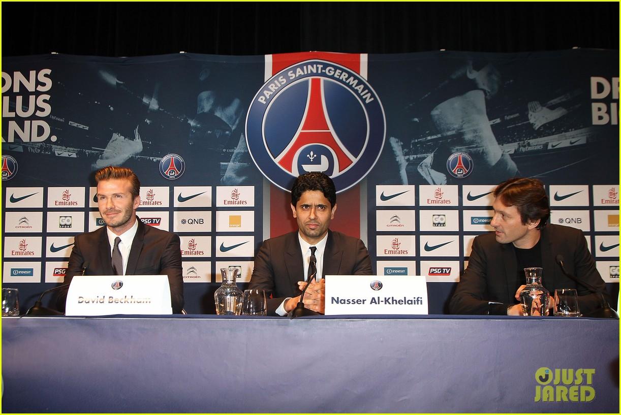 david beckham joins paris st germain soccer team 062801969