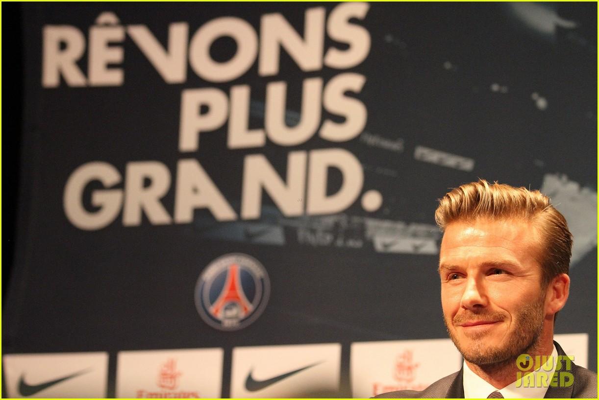 david beckham joins paris st germain soccer team 072801970