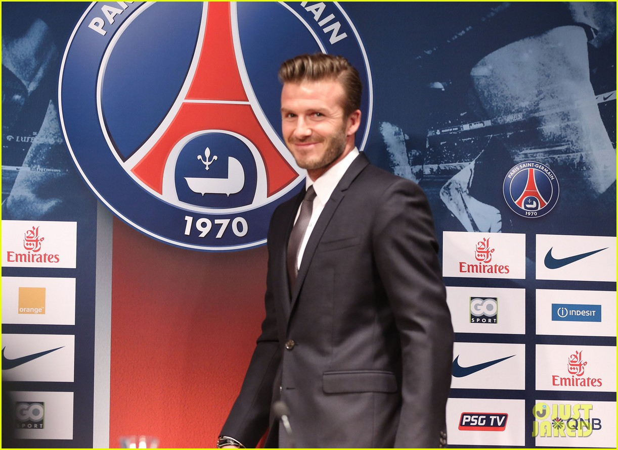 david beckham joins paris st germain soccer team 122801975