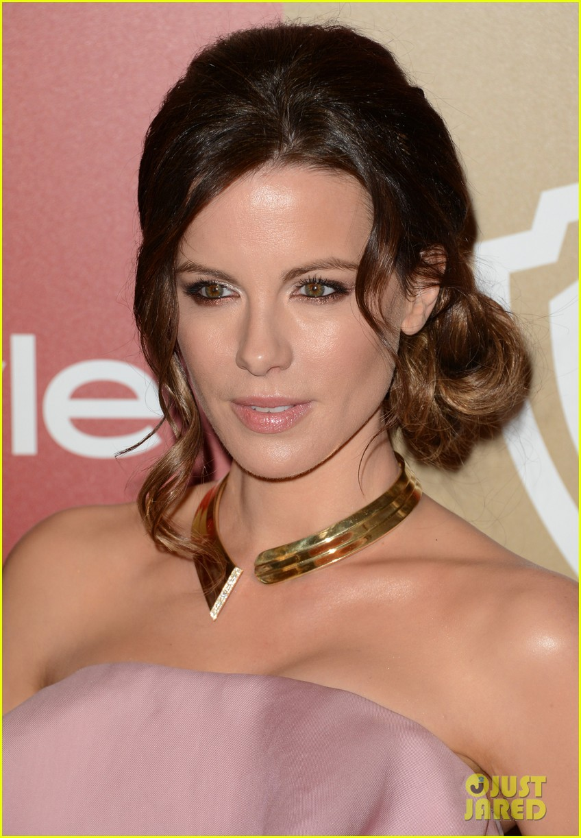 kate beckinsale instyle golden globes party 2013 072791907