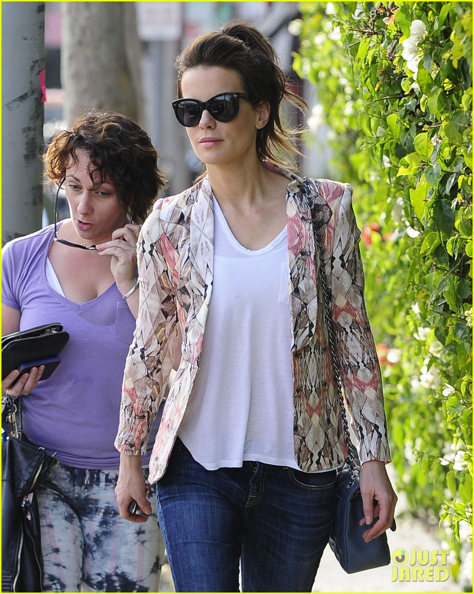 kate beckinsale melrose afternoon 092797339