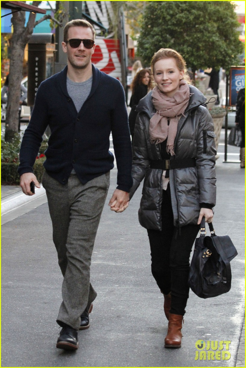 james van der beek kimberly brook the grove couple 042792633