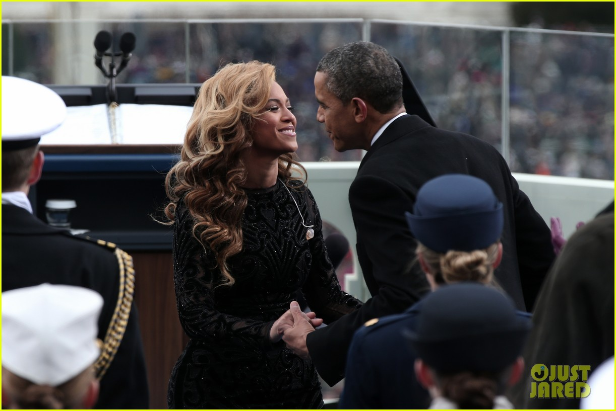 beyonce national anthem inauguration performance watch now 022796133
