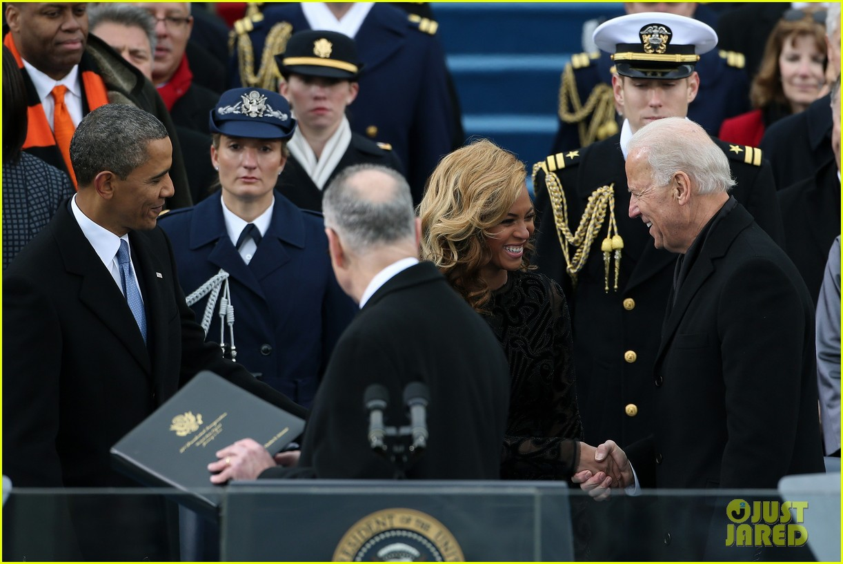 beyonce national anthem inauguration performance watch now 10