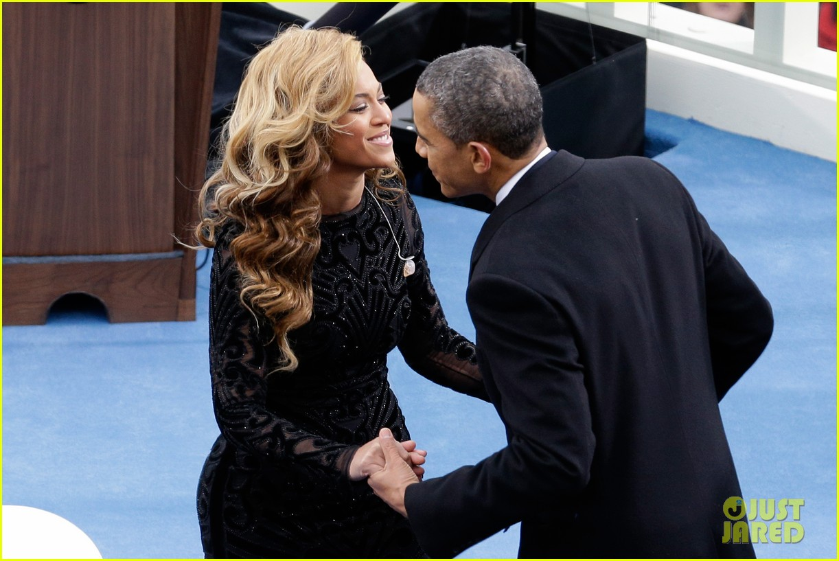 beyonce national anthem inauguration performance watch now 11