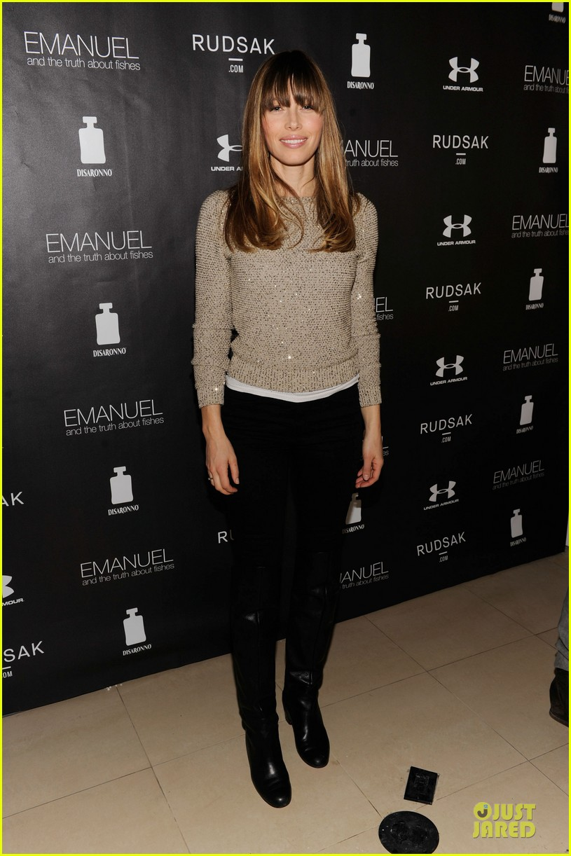 jessica biel emanuel and the truth about fishes sundance dinner 012794884