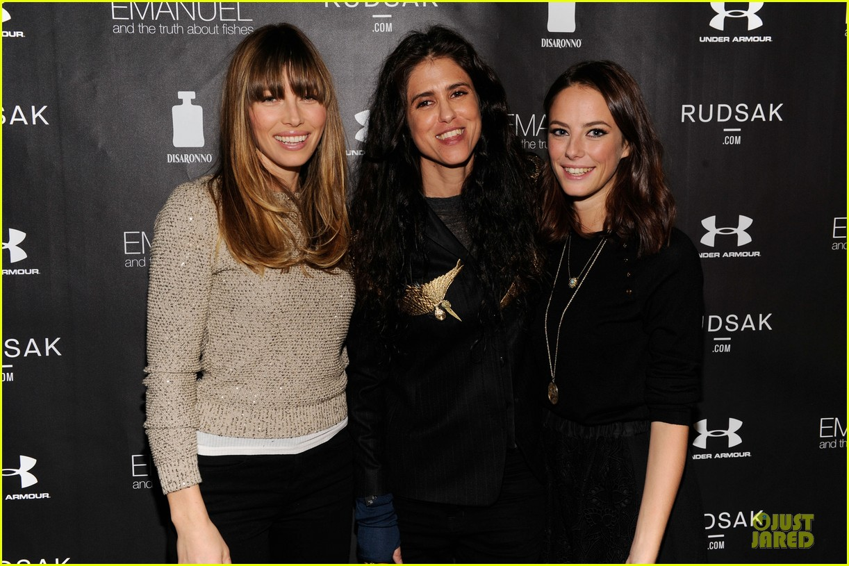 jessica biel emanuel and the truth about fishes sundance dinner 042794887