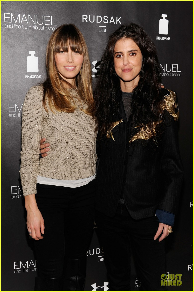 jessica biel emanuel and the truth about fishes sundance dinner 052794888
