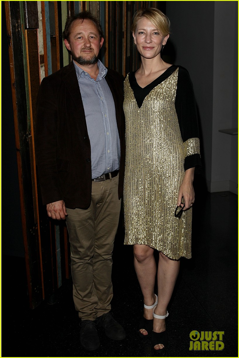 cate blanchett andrew upton secret river opening night 01