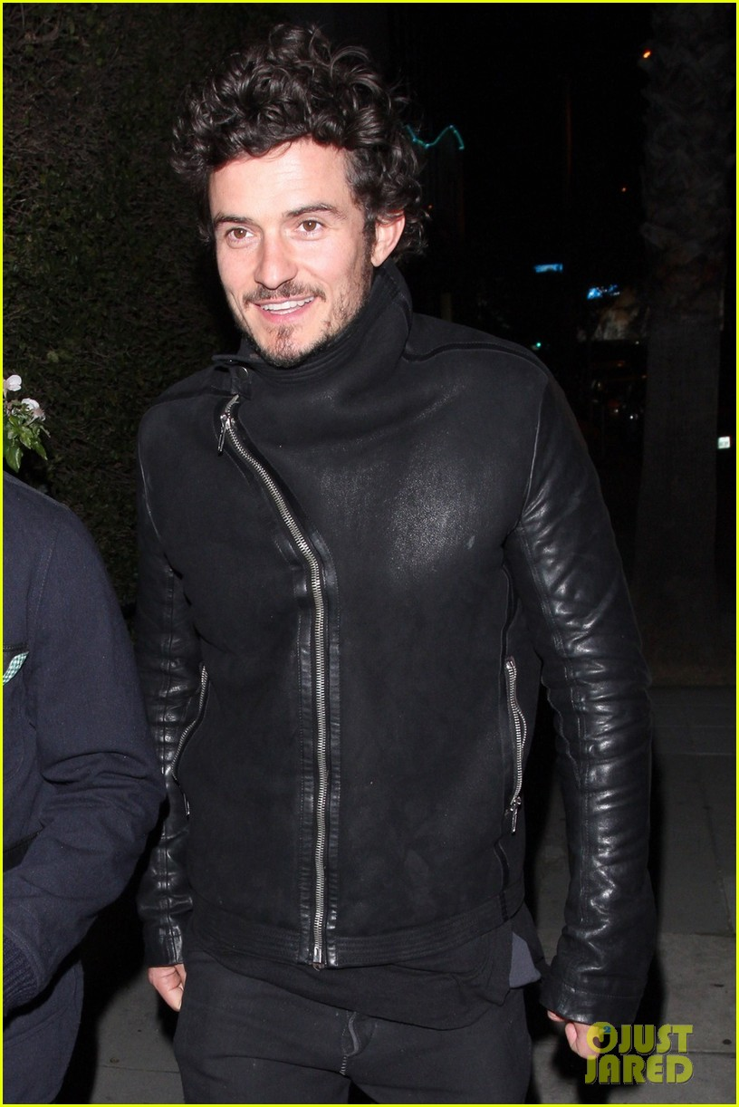 orlando bloom chateau marmont night out 022796664