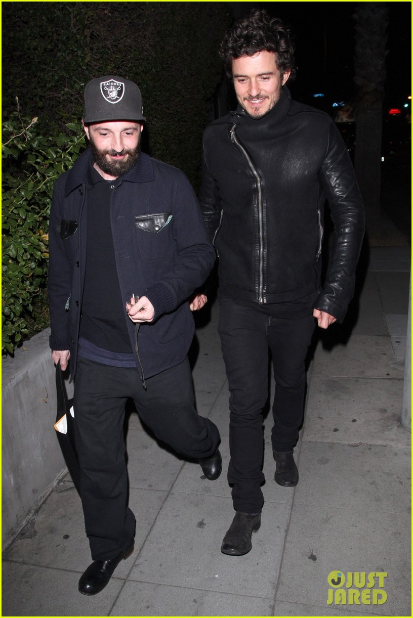 orlando bloom chateau marmont night out 032796665