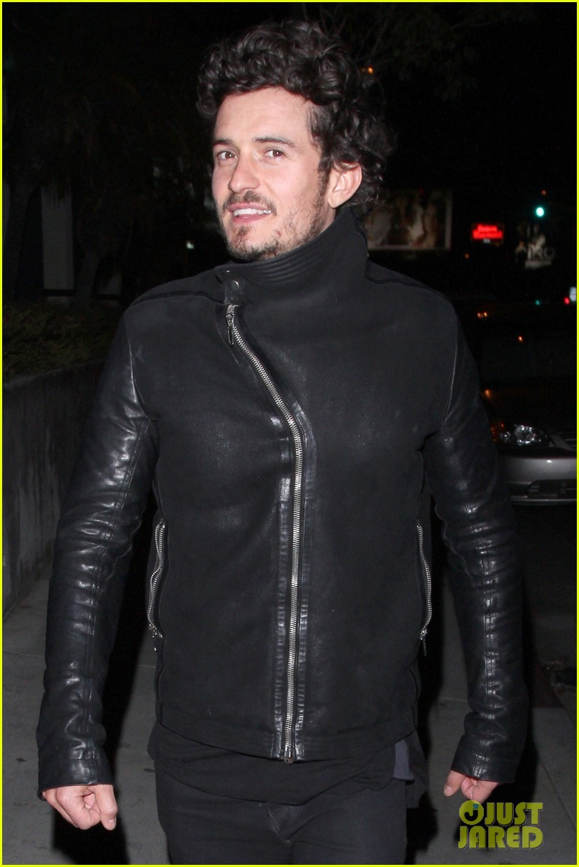 orlando bloom chateau marmont night out 042796666