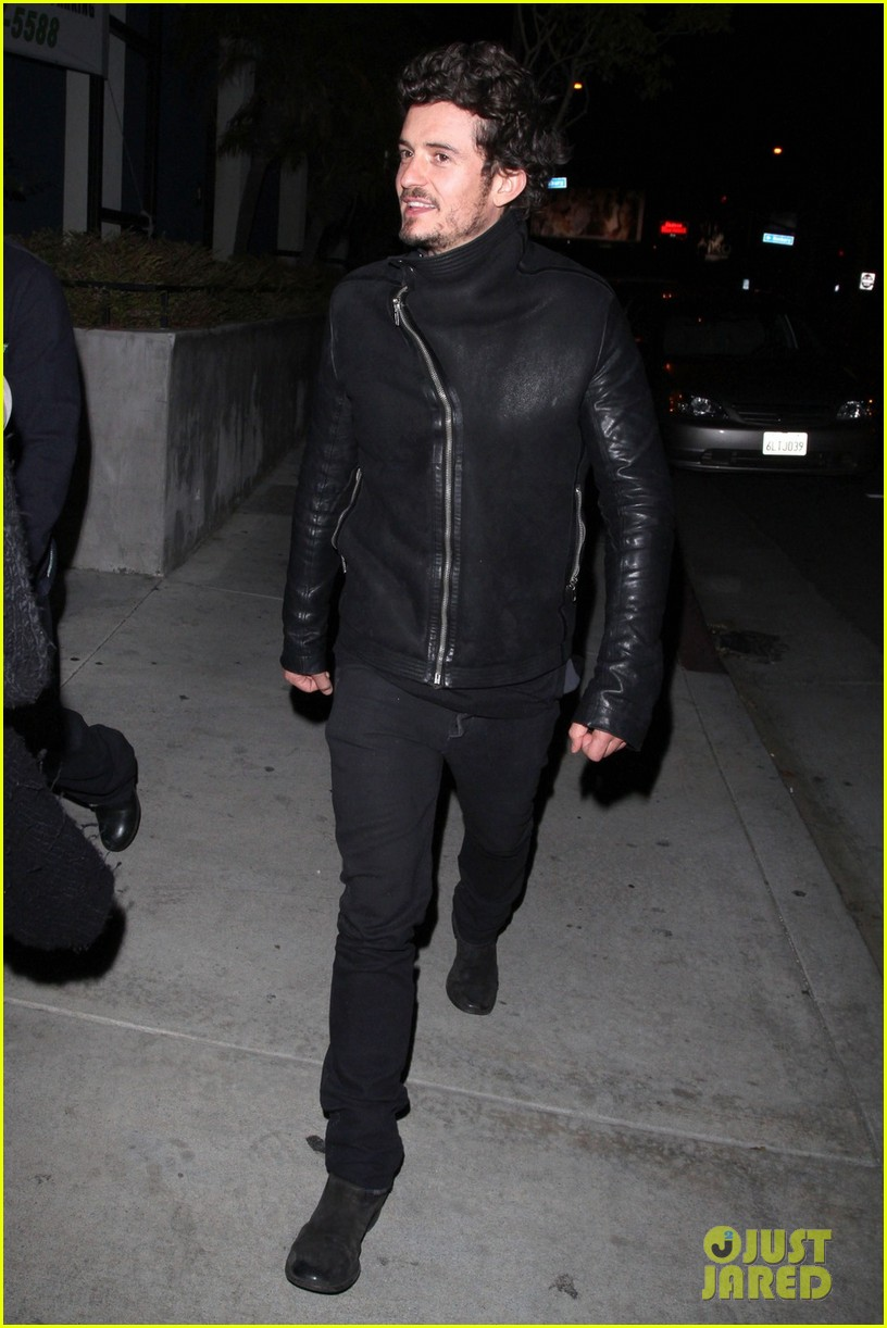 orlando bloom chateau marmont night out 05