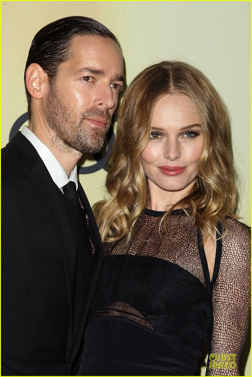 kate bosworth & michael polish sheer golden globe kick off party 162786091