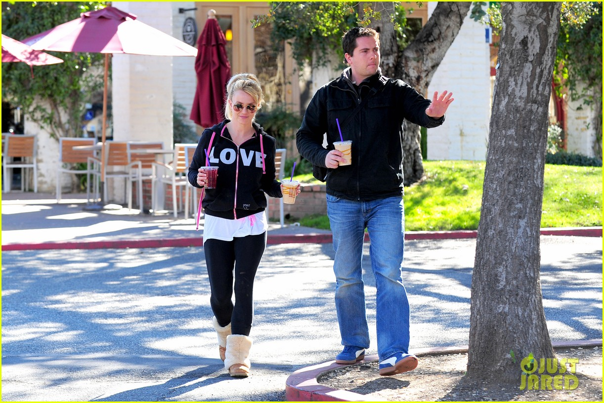 britney spears post split coffee run 052792211