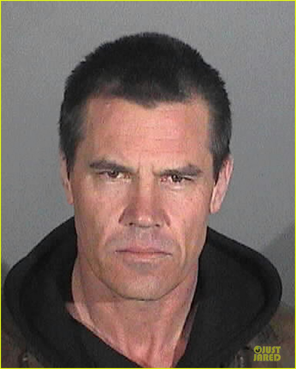 Josh Brolin: Arrested For Public Intoxication: Photo