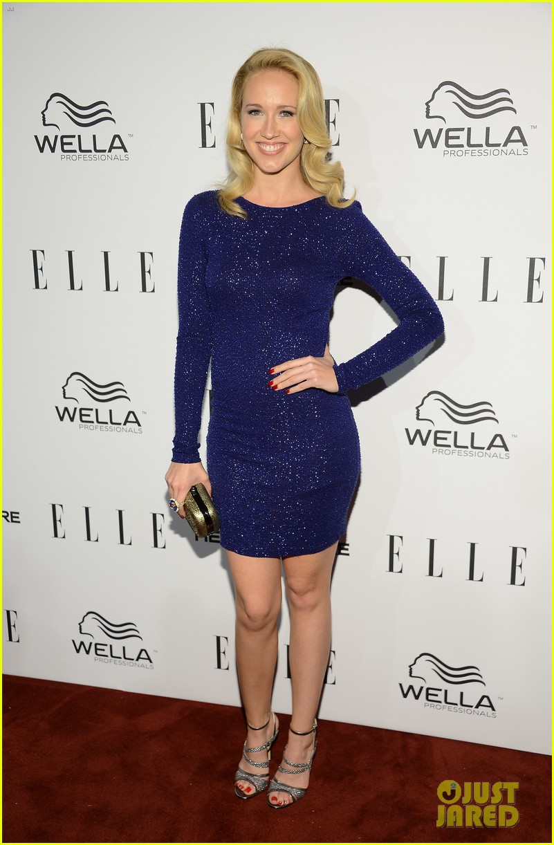 anna camp busy philipps elle s women in tv party