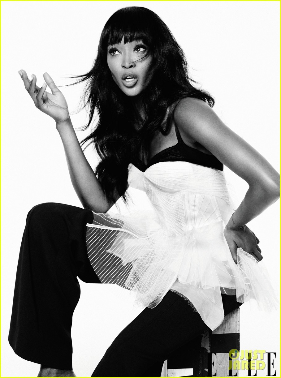 naomi campbell fierce fashion feature for elle 032787678