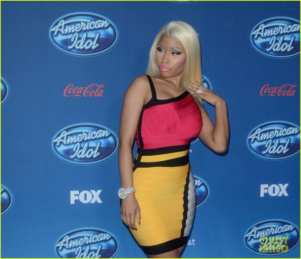 mariah carey nicki minaj american idol premiere screening 302788255