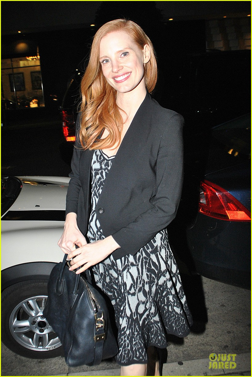 jessica chastain mr chow dinner 042800505