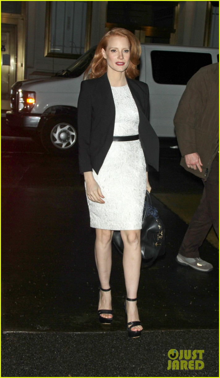 jessica chastain daily show appearance 032793449