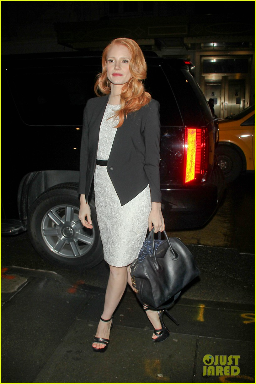 jessica chastain daily show appearance 162793462