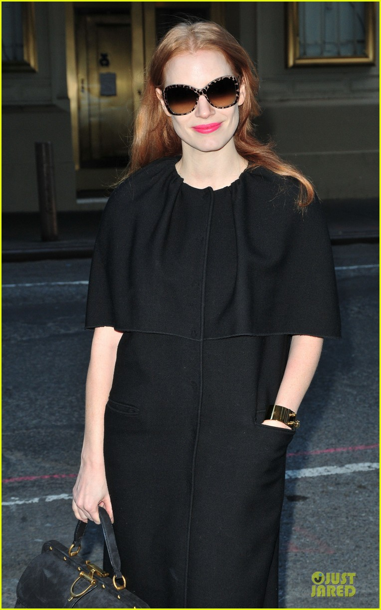 jessica chastain live with kelly and michael chat next week 022785286