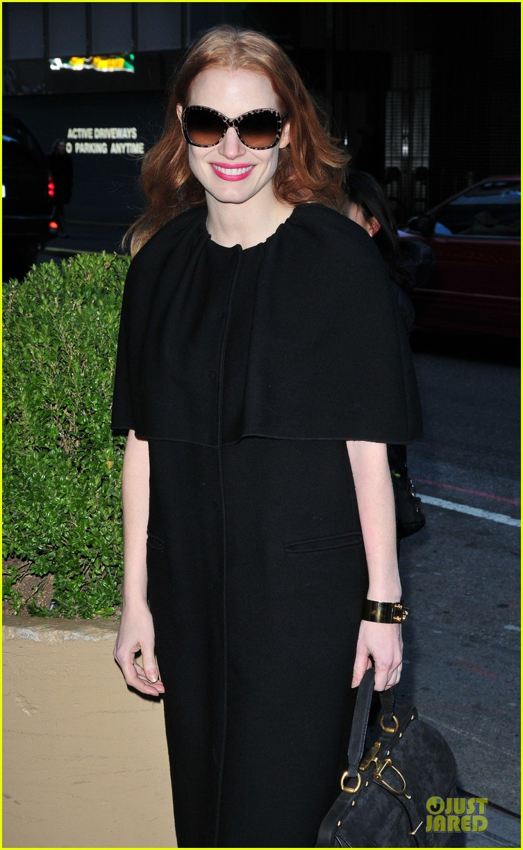 jessica chastain live with kelly and michael chat next week 062785290