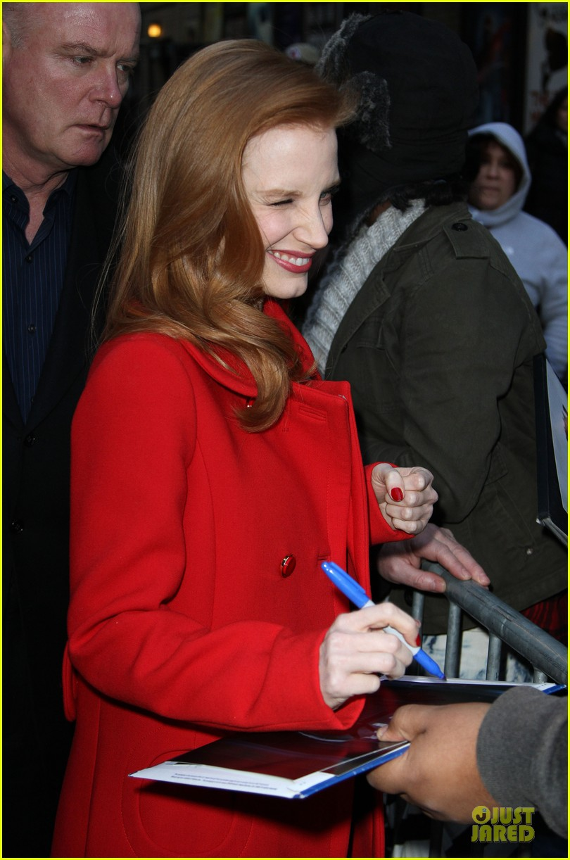 jessica chastain mama new york screening 112786546