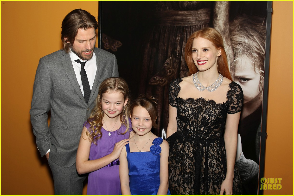 jessica chastain mama new york screening 14