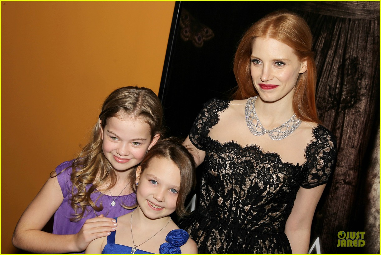 jessica chastain mama new york screening 222786557