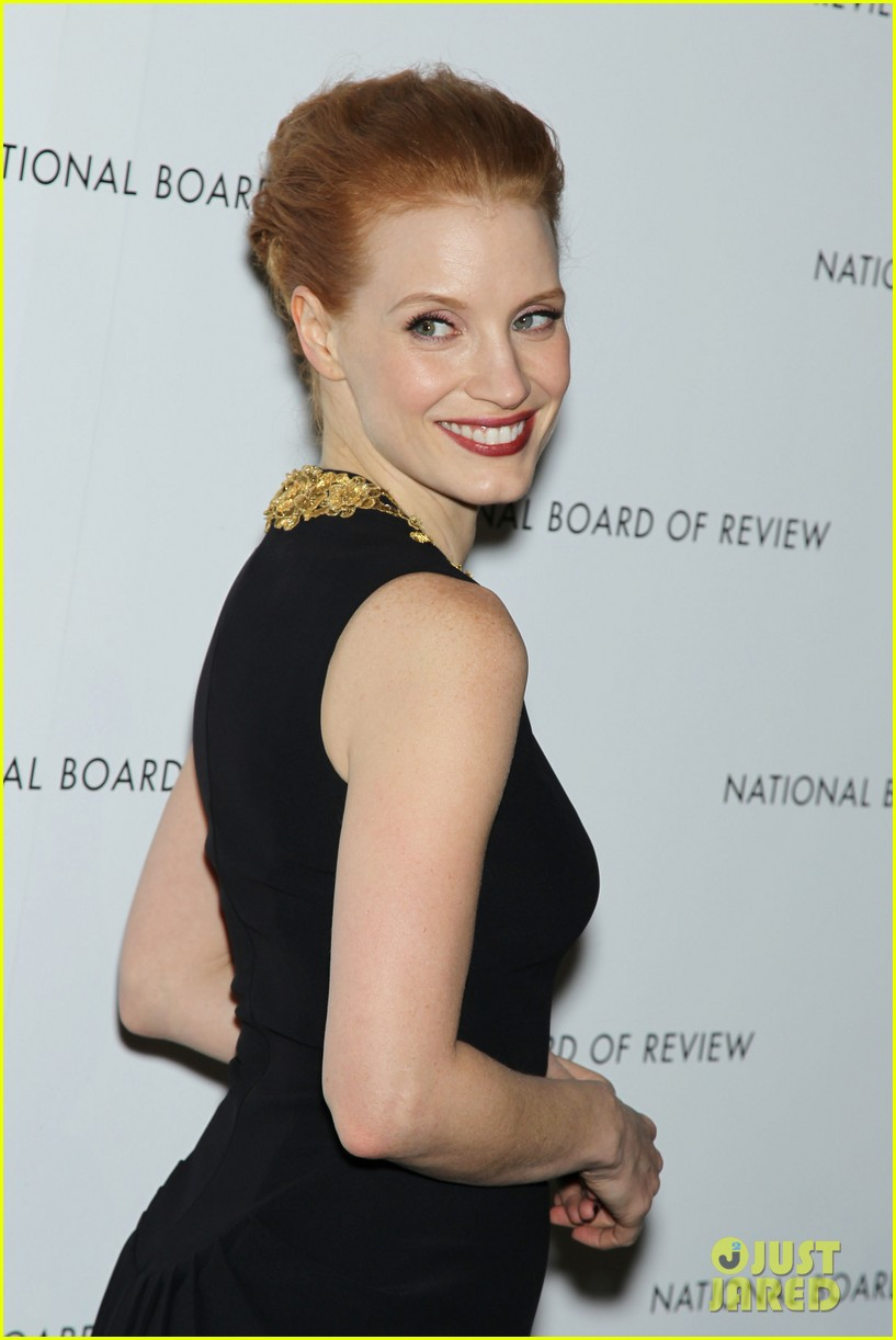 jessica chastain national board of review awards gala 2013 022787235
