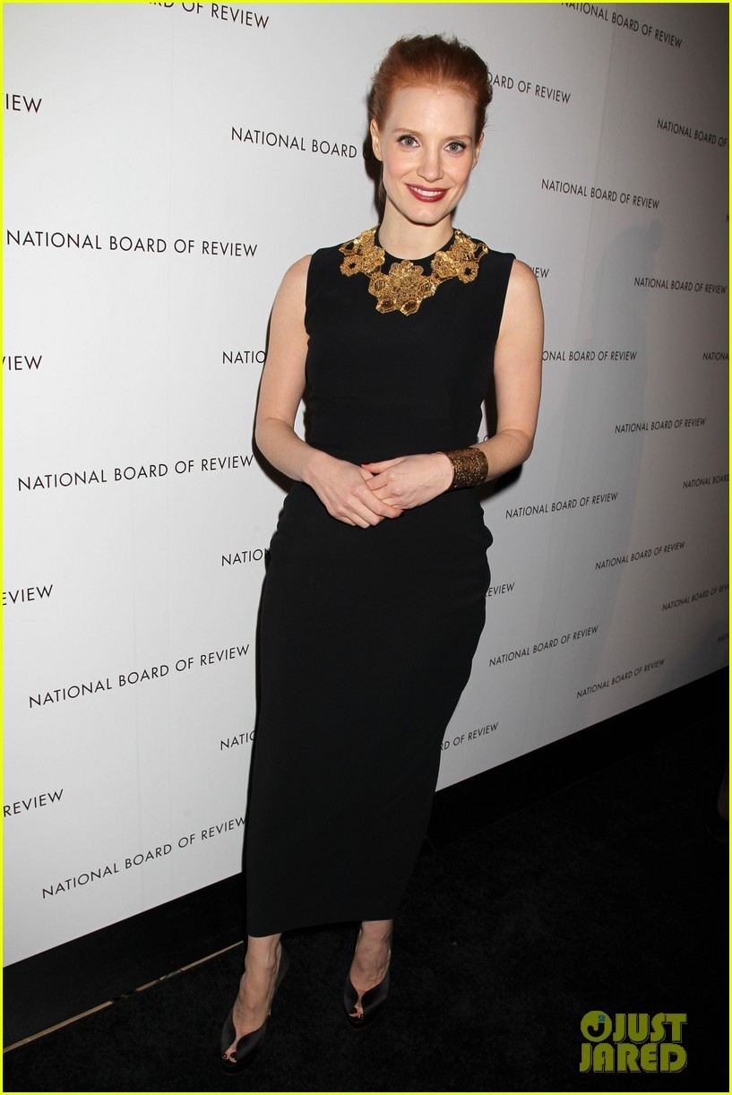 jessica chastain national board of review awards gala 2013 032787236