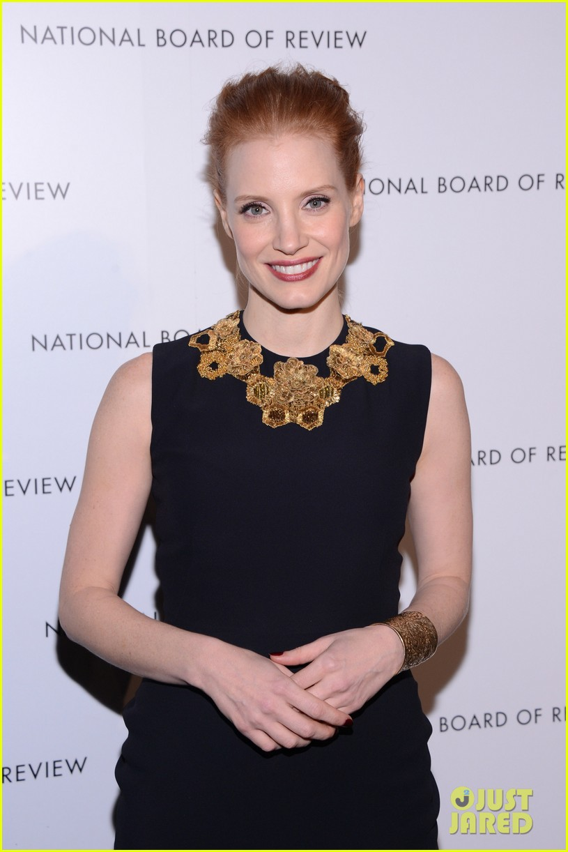 jessica chastain national board of review awards gala 2013 062787239